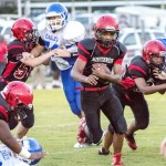 Lexington Middle School Football Photo by Phil Blakley / The Lexington Progress
