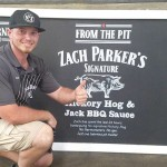 Scott's-Parker's BBQ was invited to cook at a Jack Daniels Australia event. Photo provided by Zach Parker / Scott's Parker's BBQ