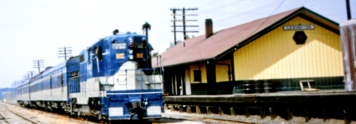 The City of Memphis at the Lexington Depot, late 1950's. Photo provided by W. Clay Crook