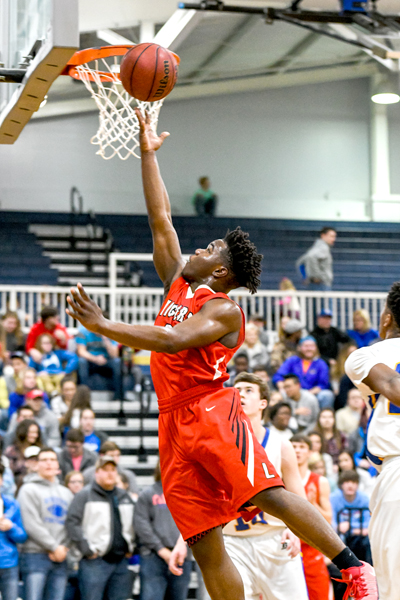 Lexington High School Tiger Basketball Photo by Jared James / The Lexington Progress