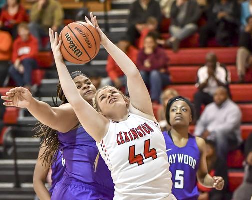 Lexington High School Lady Tiger Basketball Photo by Tina Bruce / The Lexington Progress