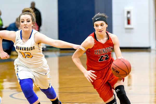 Lexington High School Lady Tiger Basketball Photo by Jared James / The Lexington Progress