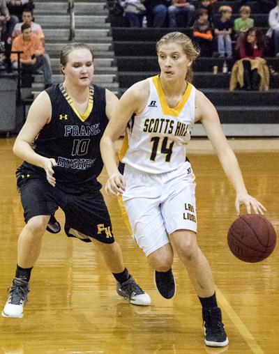 Scotts Hill High School Lady Lions Basketball Photo by Phil Blakley / The Lexington Progress