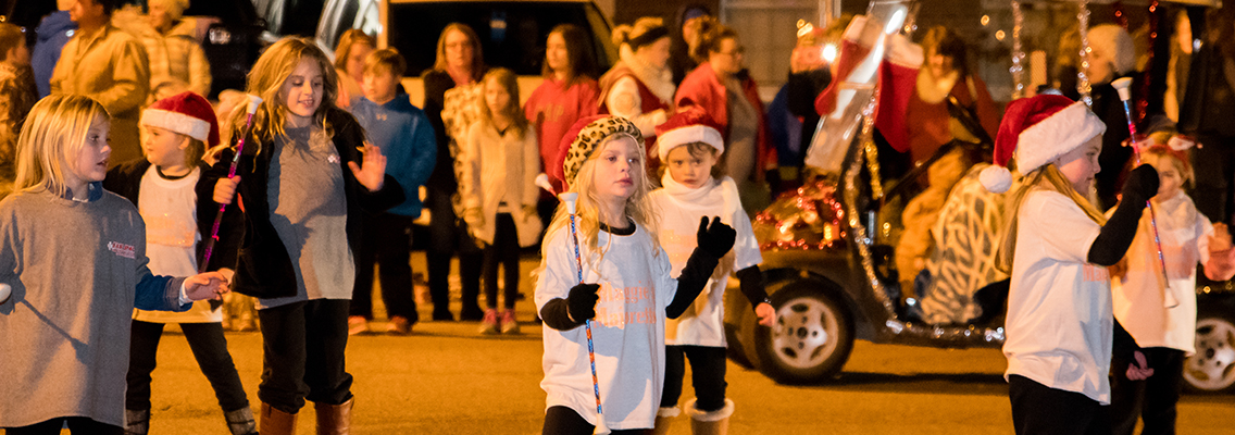 Everyone of all ages enjoyed the 2016 Lexington Christmas Parade. Photo by Jared James