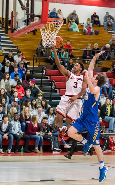 Lexington High School Tigers Basketball Photo by Jared James / The Lexington Progress
