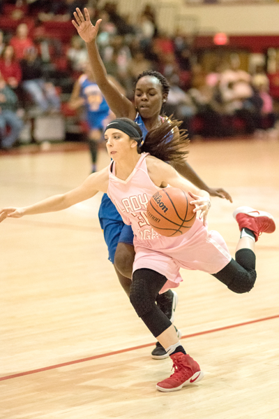 Lexington High School Lady Tiger Basketball Photo by Phil Blakley / The Lexington Progress