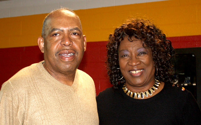 Sam Timberlake and Barbara Parker served as co-chair and chair in putting together the Dr. MLK Jr. Celebration event on Monday, January 16th. Photo by W. Clay Crook/The Lexington Progress.