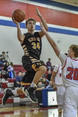Scotts Hill High School Boys Basketball Photo By: Tina Bruce/The Lexington Progress