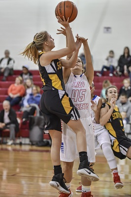 Scotts Hill High School Girls Basketball Photo By: Tina Bruce/The Lexington Progress