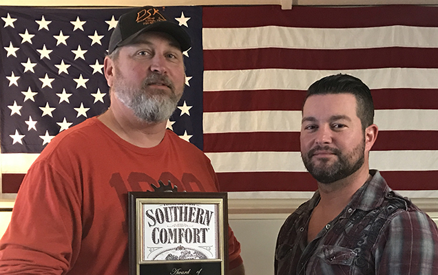 """Investigators Bowman, Montgomery, and Clark were honored for their work in the initiation of """"Operation Southern Comfort"""" Photo provided by The Lexington Police Department."""