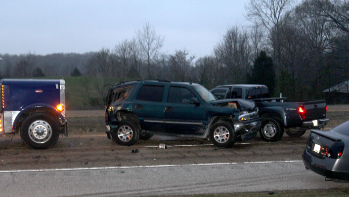 Accidents Usher In First Day of Spring – Lexington Progress