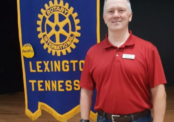 Sammy Pace, owner/operator of Pace Pac, was the guest speaker at the May 11, 2021 Lexington Rotary Club meeting. Photo by: W. Clay Crook / The Lexington Progress
