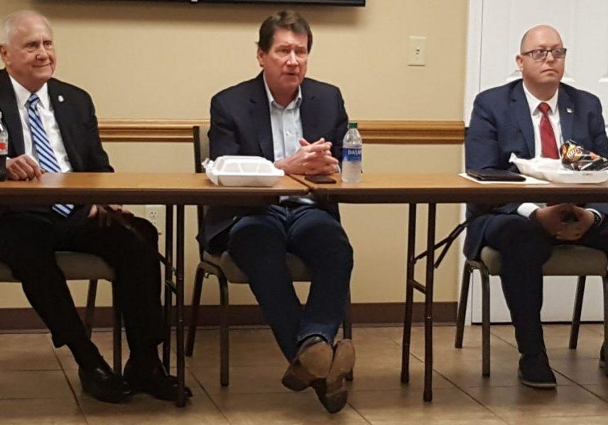 United States Senator Bill Haggerty visited Lexington, Tennessee on Thursday, April 8, 2021. Photo by: W. Clay Crook / The Lexington Progress