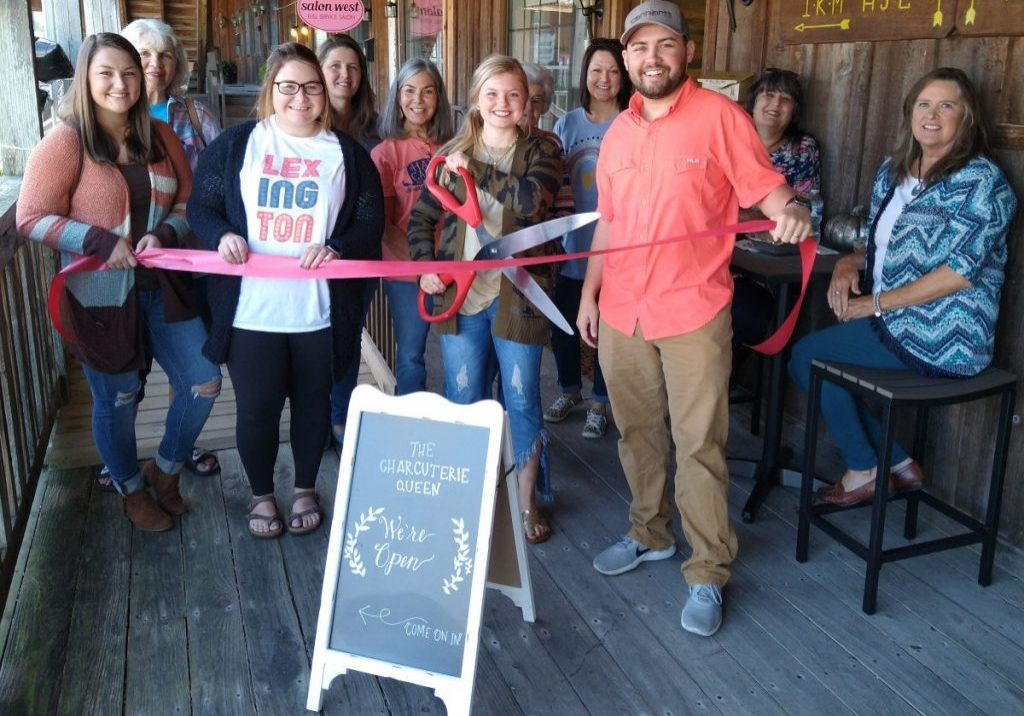 The Charcuterie Queen was hosted a ribbon cutting and grand opening by the Henderson County Chamber of Commerce on Saturday, September 19 , 2020. Photo Submitted / The Lexington Progress