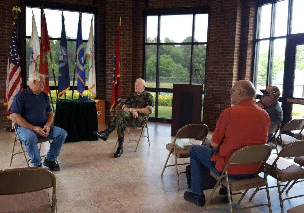 On June 3, 2021, the Support Committee for the Tennessee State Veterans Cemetery - Parkers Crossroads gathered for a brief meeting. Photo by: W. Clay Crook / The Lexington Progress