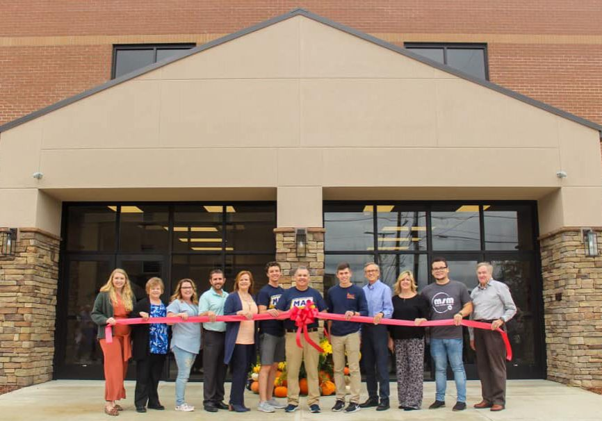 Members of First Baptist Church held a ribbon cutting on  Photo Submitted / The Lexington Progress
