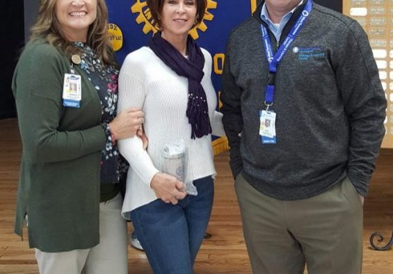 Trish Stanfill, Barbara Meussner, and Ron Kwasigroh were the special guest speakers at the January 19, 2021 Lexington Rotary Club meeting. Photo by: W. Clay Crook / The Lexington Progress