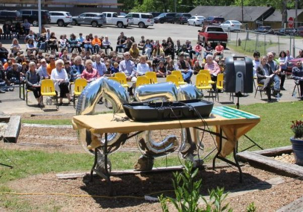 The final ceremonies of the celebration of 150 years of education in Scotts Hill occurred in Holly's Garden, on May 7, 2021. Photo Submitted / The Lexington Progress
