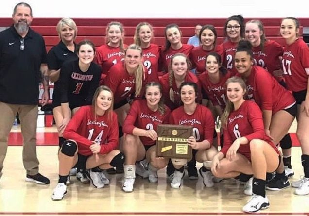 Lexington High School Lady Tigers Volleyball Photo Submitted / The Lexington Progress