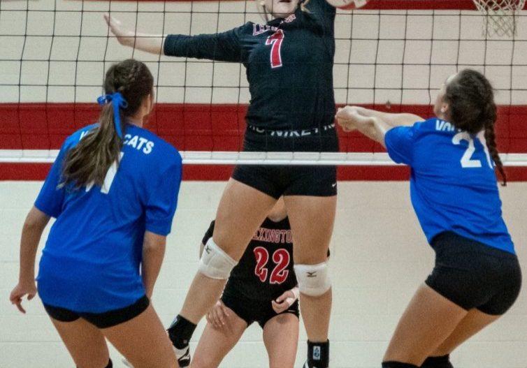 Lexington High School Lady Tigers Volleyball Photo by: Phil Blakley / The Lexington Progress