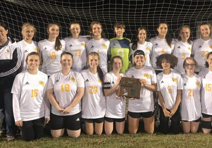 Scotts Hill High School Lady Lions Soccer Photo Submitted / The Lexington Progress