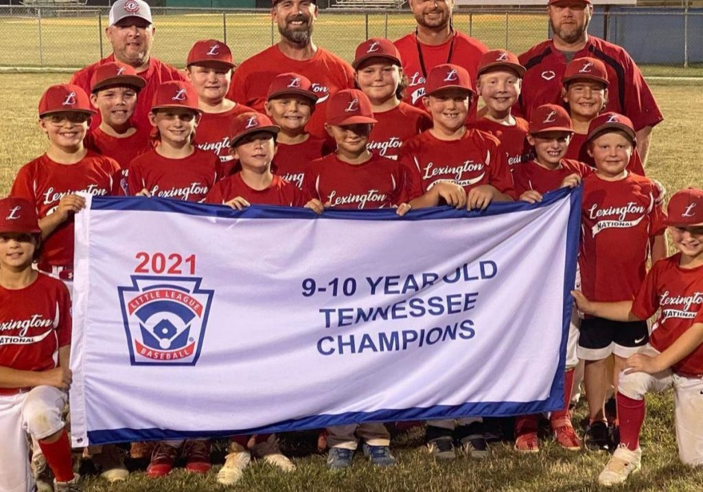 The Lexington 9&10 Year Old Boy's All-Star team won the State Championship in Morristown, Tennessee on Thursday, July 15, 2021. Photo Submitted / The Lexington Progress