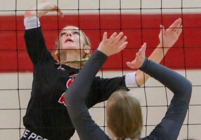 Lexington High School Lady Tigers Volleyball Photo by: Dan Eason / The Lexington Progress