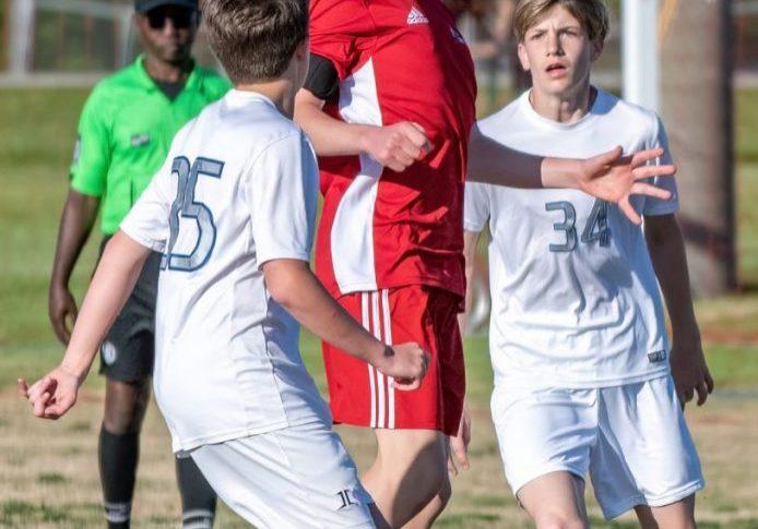 Lexington Middle School Soccer Photo by: Phil Blakley / The Lexington Progress