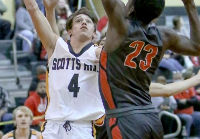 Scotts Hill High School Lions Basketball Photo by: Dan Eason / The Lexington Progress