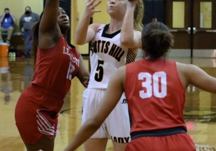Scotts Hill High School Lady Lions Basketball Photo by: Dan Eason / The Lexington Progress