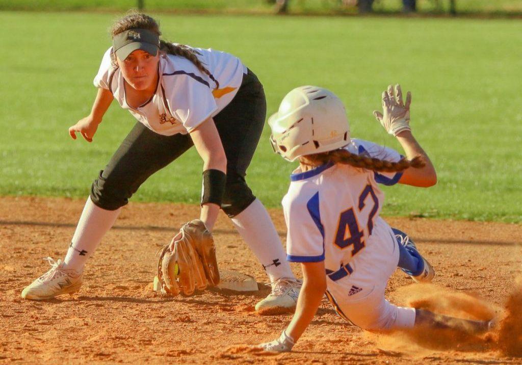 Scotts Hill High School Lady Lions Softball Photo by: Dan Eason / The Lexington Progress