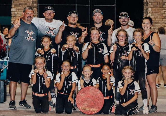 Xtreme 12 softball team won the USGF World Series, which was held in Clarksville, Tennessee from July 8, 2021 until July 11, 2021. Photo Submitted / The Lexington Progress